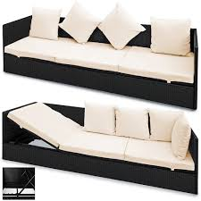 Deuba <b>Garden Sofa</b> Outdoor <b>Poly Rattan</b> 2 - Buy Online in Costa ...