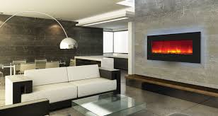 Small Picture Back Lit Electric Fireplace Electric Flames