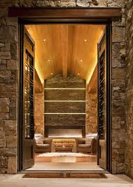 Image Background Houzz Ways To Light Up Stone And Brick Indoors And Out