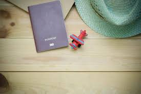 passport and hat