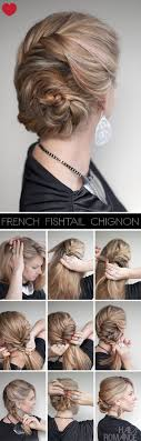 Chingon Hair Style best 25 easy chignon tutorial ideas chignons 6488 by wearticles.com