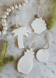 inspired by the beach make your own clay ornaments