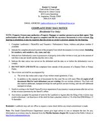 notice to owner form florida 7 day eviction notice florida form edit fill print download