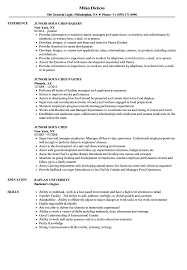 Sous Chef Resume Template Fascinating Junior Sous Chef Resume Samples Velvet Jobs