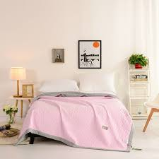 Aliexpress.com : Buy American Style Leisure Quilt Contracted solid ... & American Style Leisure Quilt Contracted solid Mechanical Wash Adults Summer  Quilts Size Full Queen Bedding Set Adamdwight.com