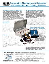 Calibration Technicians Preventative Maintenance Calibration Kit Testing Machines Inc