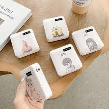 ◇▥Pin sạc dự phòng dung lượng lớn mini hoạt hình dễ thương Điện thoại di  động OPPO HUAWEI vivo đa năng 3000 mAh tốt giá rẻ
