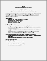Sample Resume For Software Engineer With 2 Years Experience Sample Resume For 2 Years Experienced Software Engineer