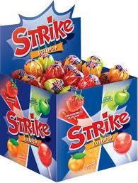 <b>Карамель на палочке</b> Strike, ассорти, 11 г – купить по лучшей ...
