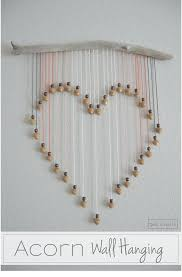 this wall art is so easy to do just some yarn