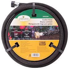 landscapers select soaker hose 25 ft x