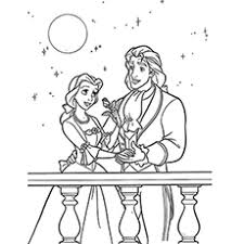 Small Picture Top 10 Free Printable Beauty And The Beast Coloring Pages Online