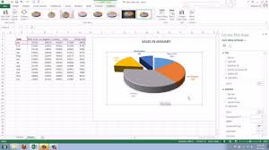 creating a pie chart in excel how to create a pie chart in excel 2013 youtube