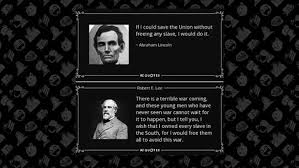 Abraham Lincoln Quotes On Slavery Extraordinary FACT CHECK Lincoln And Lee's Views On Slavery