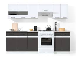 Small Picture LINE 240 kitchen set grey tungsten Polish Black Red White
