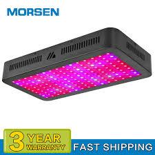 Morsen Led Grow Light Details About Morsen 1000w Led Plant Grow Lights Full Spectrum Heatsink Indoor Plant Veg Lamps