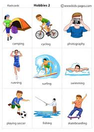 hobbies for kids. kids pages - hobbies 2 consultez aussi\u2026 for