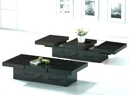 large black coffee table full image for with storage drawers high gloss