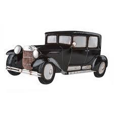premier housewares retro car wall art metal vintage style decoration