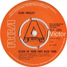 Bootlegging Elvis RARE ELVIS VOL 7Elvis Clean Up Your Own Backyard