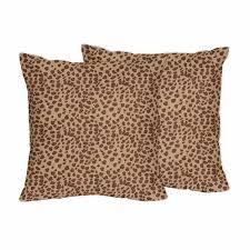 Cheetah Print Decorative Pillows