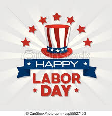 labor day theme labor day design hat of labor day in usa theme vector vector