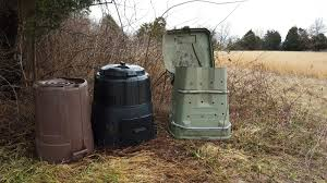 trash can compost bin. Beautiful Can The Brown Bin On The Far Left Is Just An Upside Down Plastic Trash Can With  Bottom Cut To Make A Lidflap Black Official Composting  For Trash Can Compost Bin R