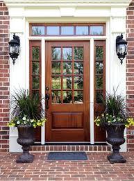 wood and glass front door doors entry door with glass entry doors with sidelights french glass