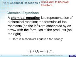 4 introduction to chemical equations
