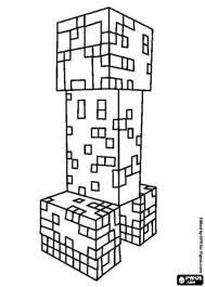 Creeper Minecraft Coloring Page Bokamosoafrica Org Home Design