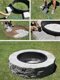 best of how to build a fire pit in the backyard make your own fire pit in 4 easy steps a beautiful mess