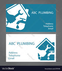 Free Design Business Cards Design Business Cards For Plumbers