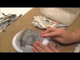 paper mache mask pt 1