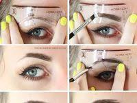 7 <b>Best Brow stencils</b> images   Eyebrow makeup tips, Eyebrow ...