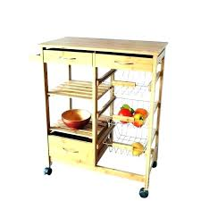 kitchen utility cart. Wooden Utility Cart With Wheels Small Kitchen On Image Of N