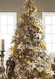 gold christmas decorations ideas - Google Search