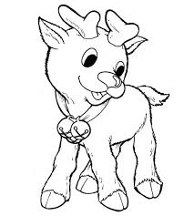 Small Picture Printable rudolph the red nosed reindeer coloring pages for kids