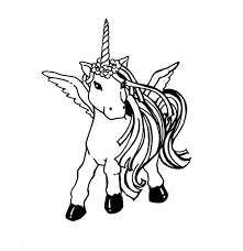 Small Picture Baby Unicorn Coloring Pages Coloring Pages