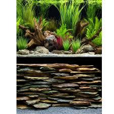 Aquarium Background Pictures Marina Planted Oasis Slate Wall Aquarium Background Aquarium