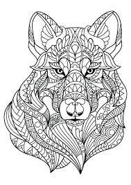 Animal Mandala Coloring Pages Adult Coloring Pages Fotos