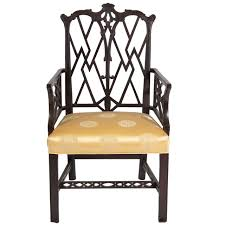 Chippendale Furniture Chinese Chippendale Style Arm Chair For Sale At 1stdibs
