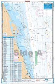 Waterproof Charts Cape Canaveral Offshore Fishing