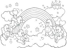 Rainbow Coloring Sheet For Preschoolers Rainbow Coloring Pages For