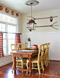 breakfast room and kitchen french canvas