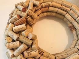 look at each cork and place the desired side pretty design or logo of the cork up