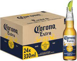 Corona Extra Bier aus Mexico (24x 0,355l) Flaschen inkl. 1,92 Euro Pfand  MEHRWEG: Amazon.de: Bier, Wein & Spirituosen