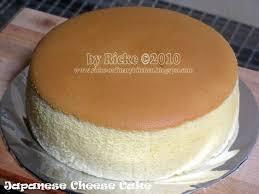 Japanese Cheese Cake Oleh Ricke Indriani Thx Sudah At Berbagiresep
