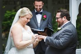 i love a personal ceremony jenny and ben wrote their own vows and had jenny s brother officiate it just add that extra personal touch