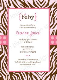 printable zebra baby shower invitations templates shower minnie mouse baby shower invitations by putting magnificent invitation templates printable to create your luxurious 4