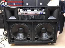 THANH HUY AUDIO - 🔵 Loa Kéo 2 bass 40 và 2 trép + Dàn Đẩy....